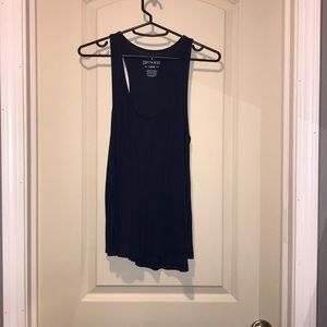 soft & sexy navy blue tank top